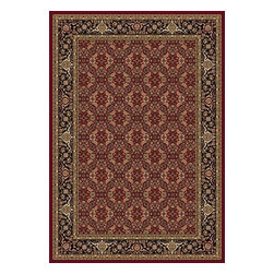 "Dynamic Rugs - Dynamic Shiraz 51008-2100 Red 9'2"" x 12'10"" Area Rugs - Dynamic Shiraz 51008-2100 Red 9'2"" x 12'10"" Area Rugs"