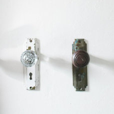 Traditional  Anitque Door Knobs As Towel Hooks