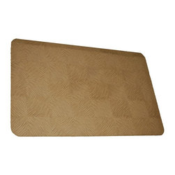 Rhino Anti-Fatigue Mats - Comfort Mats: Rhino Anti-Fatigue Mats Safety Supplies Housewares Dorado Teak - Shop for Flooring at The Home Depot. Our Comfort Craft Housewares Premium line was designed to bring commercial grade comfort to the home. These mats come in 80 different styles and colors to match any existing color schemes in your home. Our Housewares line has set a new standard for high end kitchen matting. The days of crinkled wrinkled and rolled up mats that constantly require straightening and cause trip hazards are over. This mat will stay where you put it exactly like you want. No sliding or wrinkling. Color: Teak Brown.