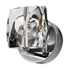 ET2 Neo Collection Chrome Crystal Wall Sconce