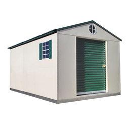 Buildings Available - Temloc 10'x16' Deluxe Steel Building