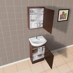Dreamline Modern Bathroom Vanity DLVRB-102 - PRODUCT SPECIFICATIONS