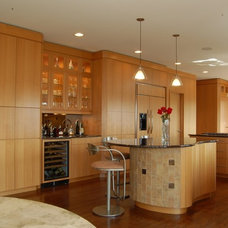 Contemporary Kitchen by Closet Organizing Systems