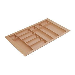 Hafele - 32 in. Cutlery Tray - Can be trimmed to fit drawer.