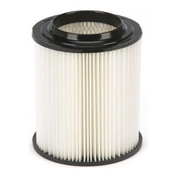 Shop Vac - Craftsman/Rigid Filter - Special cartridge filter for both wet and dry pick-up. Maintains suction power even when used with fine debris like drywall dust. Resists clogging, easy to clean, just tap or rinse, reusable with nonstick surface. Fits Craftsman and Rigid wet/dry vacs and   full size vacs. It is not recommended for wet pickup. If used for wet pickup it can reduce the life of the filter.