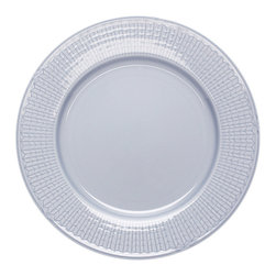 "iittala Swedish Grace Salad Plate 8.5"" Ice - A design classic in six colours. This tableware still evokes the same emotions as when it was unveiled at the Stockholm Exhibition in 1930. Louise Adelborg succeeded in conveying the sensation of ears of wheat swaying in the summer breeze."