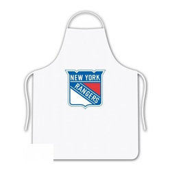 Sports Coverage - Sports Coverage NHL New York Rangers Tailgate Apron - Show your NHL team spirit with this screen printed New York Rangers Tailgate Apron! This wonderfully designed NHL Apron is a necessity for any chef. Whether in your backyard, outside the stadium or arena, or at your restaurant, this Apron is the perfect accessory. Regardless of the occasion, make sure you show your team spirit with this NHL Apron.  Apron is 100% cotton twill with screenprinted logo. One Size fits all.