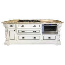 Transitional Kitchen Islands And Kitchen Carts by Rockwood Cabinetry