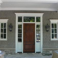 Traditional Front Doors by Muskoka Custom Carpentry ltd.
