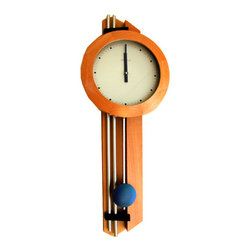 HERMLE - Hermle Silver Design Contemporary Wall Clock 70624 382200 - This German clock features: