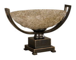 Uttermost - Oil Rubbed Bronze Crystal Palace Centerpiece - Oil Rubbed Bronze Crystal Palace Centerpiece