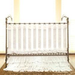 Crib Windsor Walnut Convertible Crib Windsor White ...