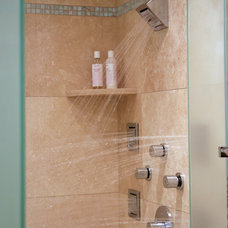 Contemporary Showers by Kingston Design Remodeling