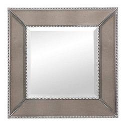 Bassett Mirror Company - Bassett Mirror Company Beaded Wall Mirror - Beaded Wall Mirror by Bassett Mirror Company Mirrors (1)