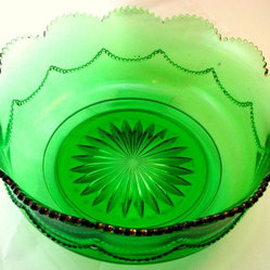 Heisey Glass Emerald Green