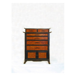 Tsunami Chest - Japanese chest  donated for auction during the Tsunami Relief efforts