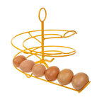 Egg Skelter - When you are collecting eggs from the backyard every day, they begin to stack up. And it quickly becomes hard to remember which ones were collected first. Use this genius egg holder, and you'll always know which egg to eat next.