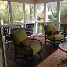 traditional porch by PT Designs Inc. Paula Tranfaglia - Decorating Den