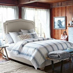 Serena & Lily - Bergen Duvet - Duvet covers are a great way to bring some pattern and color into your bedroom. This one in particular is a beautiful option.