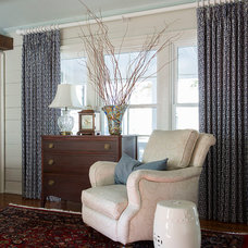 Farmhouse Living Room by Kimberly Bryant Interior Design Group
