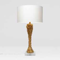 Arron Lamp - This is definitely a statement lamp. It is lovely!