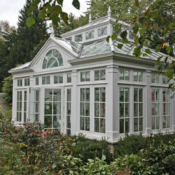 Garden House with Feature Gable - Photo by James Licata