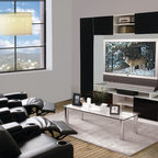 Keegan Entertainment Center Wall Unit - Description: