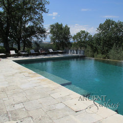 Antique Biblical Limestone Reclaimed Stone Flooring Pavers - Images provided by 'Ancient Surfaces'