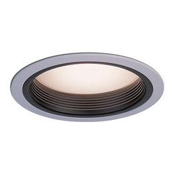"""Nora Lighting - Nora NTS-6242 6"""" Regressed Albalite Lens with Baffle and Specular Clear Reflecto - 6"""" Regressed Albalite Lens with Baffle and Specular Clear Reflector"""