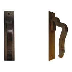 Rail anchor door handle - Railroad inspired products for the kitchen by Railroadware