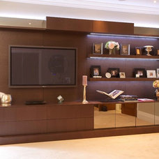 Modern Media Cabinets by Minimo Bespoke Furniture