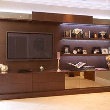Modern Media Storage by Minimo Bespoke Furniture