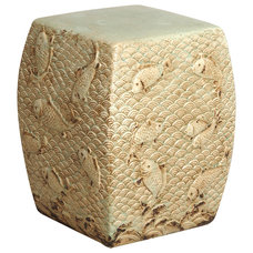 Asian Accent And Garden Stools by Kathy Kuo Home