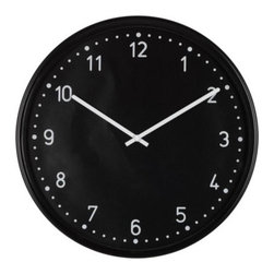 IKEA of Sweden - BONDIS Wall clock - Wall clock, black