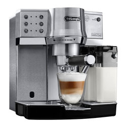 DeLonghi - Delonghi EC860 Espresso Machine - Stainless Steel - Overview
