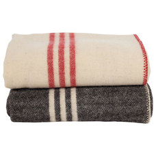 Traditional Blankets by ABC Carpet & Home