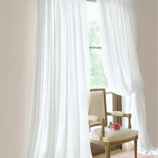 traditional curtains by Soft Surroundings
