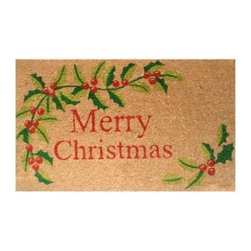 Momentum Mats - Momentum Mats Merry Christmas 29 in. x 17 in. Coir and Vinyl Door Mat 12102 - Shop for Holiday Decorations at The Home Depot. Made of natural coir and vinyl-backed for stability and to prevent movement. Our festive holiday door mat makes an attractive and durable addition to any porch or patio area. Wonderful for the holidays and all winter long.