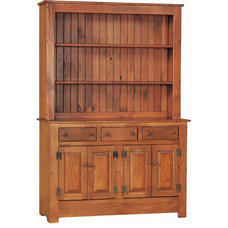 Farmhouse Kitchen Cabinetry by DutchCrafters Amish Furniture