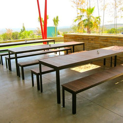 SOL Outdoor Dining Set - Specifications: