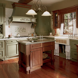 Model Kitchen - Wellborn Cabinet