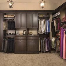 Traditional Closet Organizers by All Ways Organized