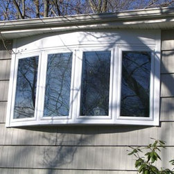 Bows and Bay windows - A bow window, with 4 casement windows allowing for ventilation in any room.