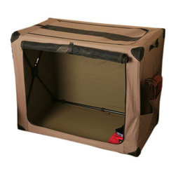 ABO - ABO 10499 DOGS DIG SMALL TRAVEL CRATE FULLY COLLAPSIBLE - ABO 10499 DOGS DIG SMALL TRAVEL CRATE FULLY COLLAPSIBLE