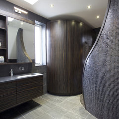 contemporary bathroom by Increation