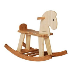 Maxim EverEarth Bamboo Rocking Horse - Help your child build balancing skills and muscle development with the Maxim EverEarth Bamboo Rocking Horse. This fun and beautiful addition to your tiny tot's playroom is finely crafted of eco-friendly, renewable bamboo. The simple rocking horse design is perfect for small hands to easily grasp onto. Recommended for ages between 18 months and three years.About Maxim EnterprisesCommitted to quality, consumer satisfaction, and child-safety, Maxim is a company that believes in responsible todays for brighter tomorrows. Each item made by Maxim is crafted from researched materials. For example, the company only creates wooden toys that are only made from government-approved reforested land and trees. Focused on wellness of employees to the safety of the children who use their products, Maxim works to be a trusted company you can rely on.
