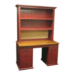 River Kids Computer Desk - When your child needs a writing desk, consider a desk with a hutch. Combining storage with a work surface, this piece will hold up for years of happy usage. Yes even homework is awesome from here.