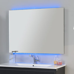 "macral - Macral Design LED mirror 32"" full color with remote control. - Led lighting mirror 32""."