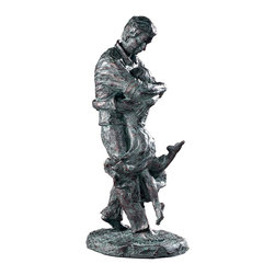Uttermost - Uttermost Welcome Home Oil Rubbed Bronze Figurine 19492 - Oil rubbed bronze patina with a verdigris glaze.