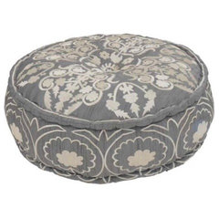 eclectic ottomans and cubes by Le Souk